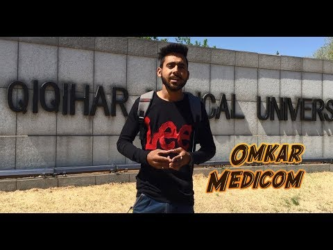 Sourabh from Haryana in Qiqihar Medical University, China.