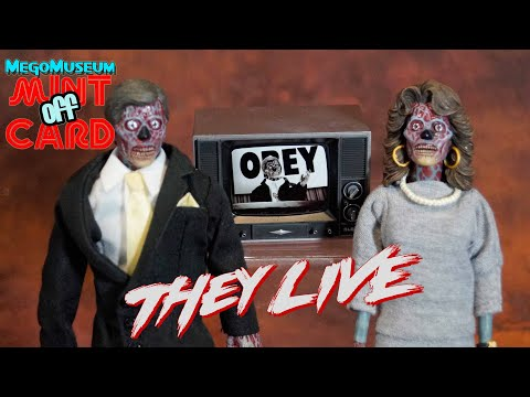 Mint Off Card: They Live By NECA