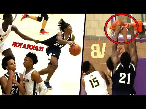 chino-hills-new-pg-anthony-bell-flexing-vs-boogie-ellis!-big-o-dunks-on-his-own-teammate!-😂