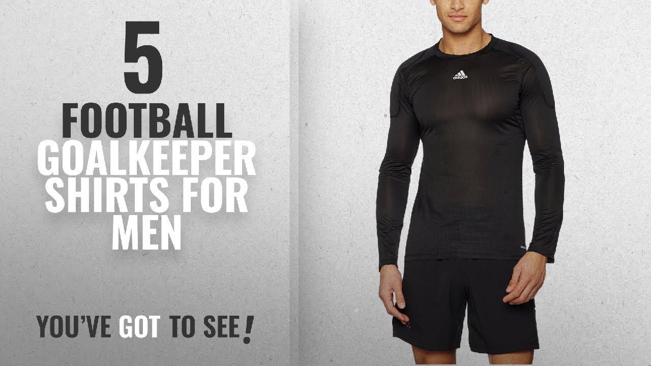e92fd972fe2 Top 10 Football Goalkeeper Shirts For Men [2018]: Adidas Men ...