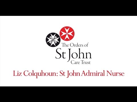The role of a St John Admiral Nurse at OSJCT