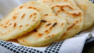 Como Hacer Arepas - Arepas venezolanas - Arepas al horno - Arepas Sanas