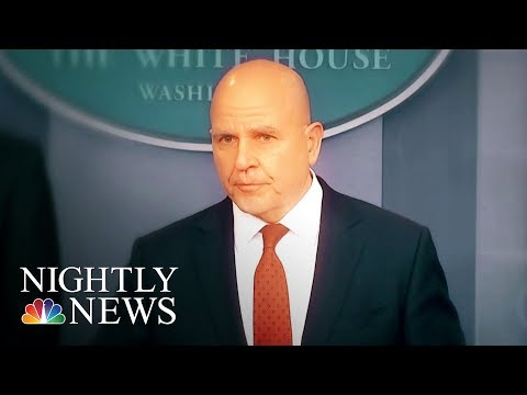 White House Preparing For McMaster Exit As Early As Next Month | NBC Nightly News