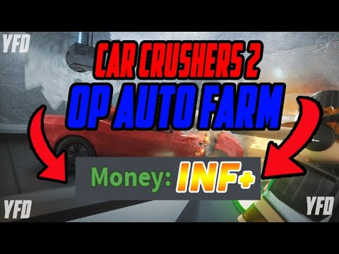 Roblox Car Crushers 2 Op Auto Farm Youtube