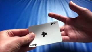 Tutoriel : Tour de Magie facile - Faire disparaitre une carte