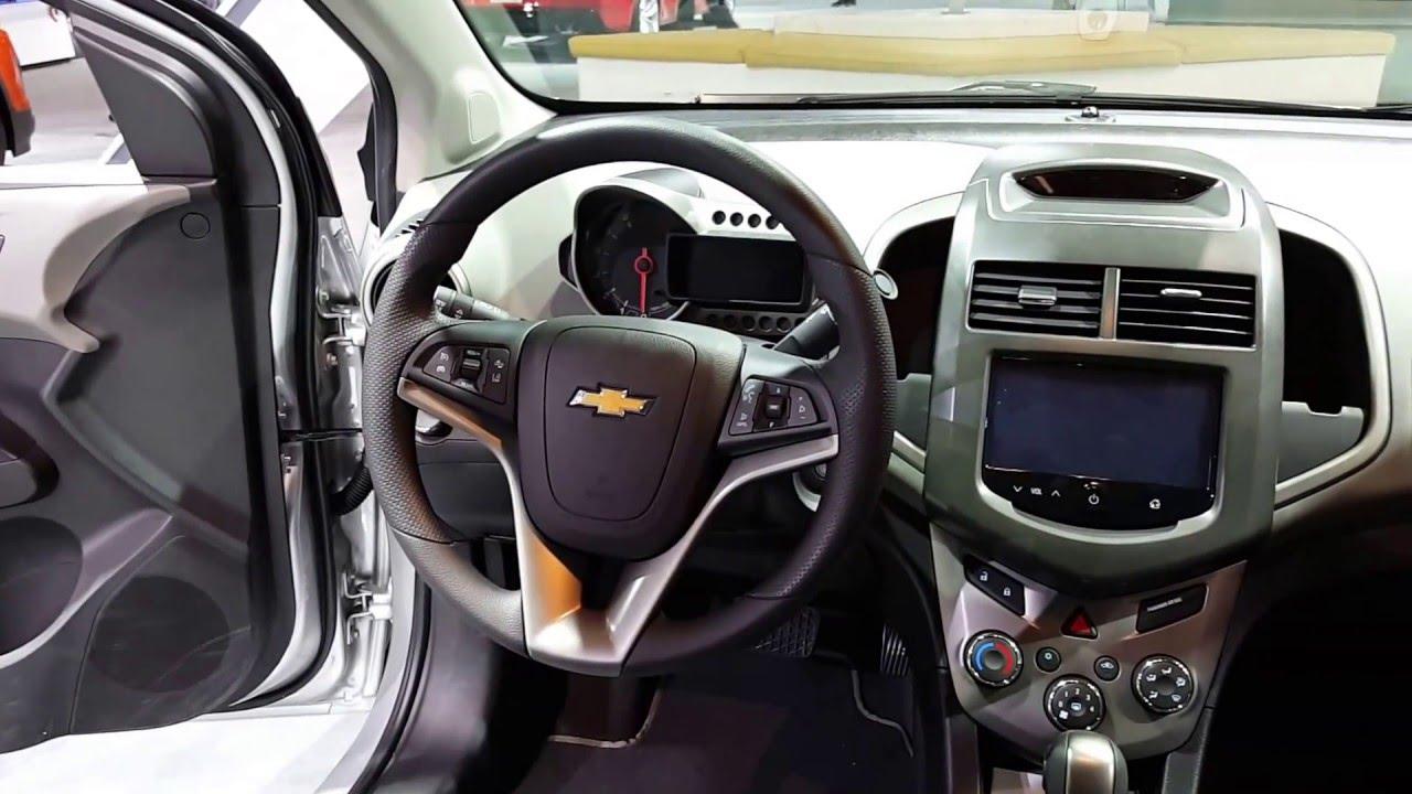 2016 Chevrolet Sonic Interior Walkaround Chicago Auto Show