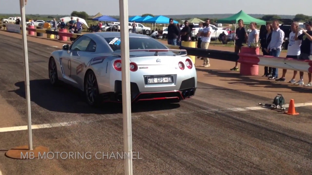 The 3 fastest cars over a 1/2 mile in South Africa!