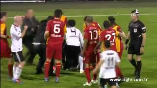 Besiktas fans attacked Emmanuel Eboue
