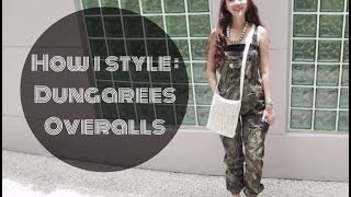 How I Style: Dungarees / Overalls
