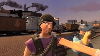 Team Fortress 2 - Zombie Apocalypse Part 7 - Train Station