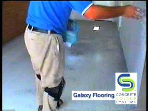 CCS Galaxy Epoxy Flake Flooring