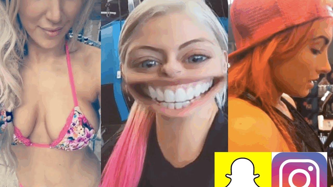 lingerie Snapchat Alexa Bliss naked photo 2017