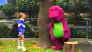 Barney comes to life (Having Tens of Fun!) (Clip)