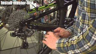 Mountain Biking With JANS.com: How to repair a broken chain