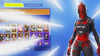SHOWING MY FORTNITE * Skin Showcase * ACCOUNT
