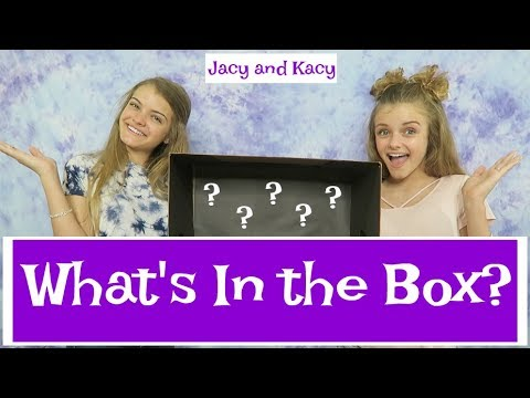 Thumbnail: What's In the Box Challenge ~ Jacy and Kacy