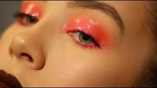 editorial / glossy lid tutorial