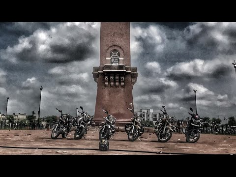 Old Lucknow bike ride Sunday Morning ride | Fun motovlog