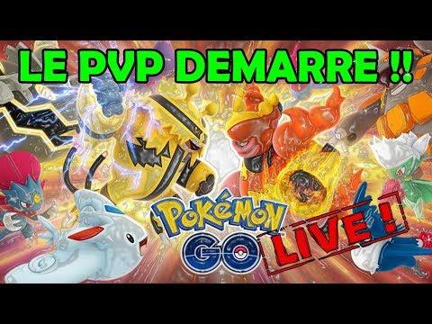 PREMIERES IMAGES & EXPLICATIONS DU PVP DANS POKEMON GO !! (partie 2)
