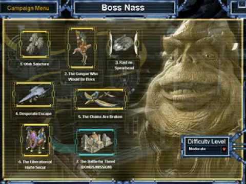 (OLD) Star Wars Galactic Battlegrounds Speedrun - Boss Nass - 3 Part 1 |