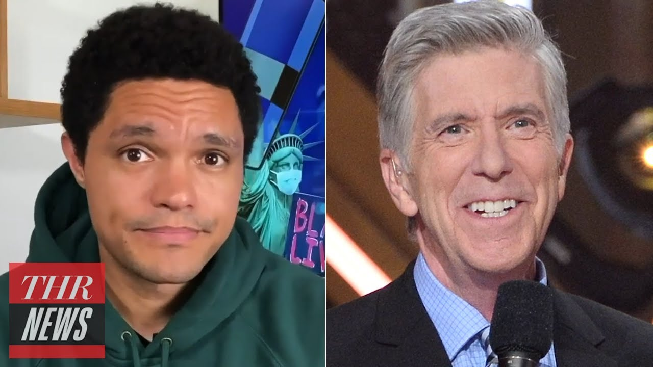 Trevor Noah Chastises Disney World Goers, Tom Bergeron Out as 'DWTS' Host | THR news