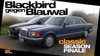 Mercedes C 250 vs. 560 SEL / Our Classic Season Finale (German)