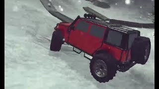 EXTREME OFFROAD CARS 2 GAME LEVEL 1-4 WALKTHROUGH