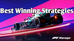 F1 Manager|Best Winning strategies