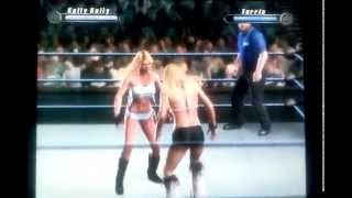 SvR 2008 GamePlay Kelly Kelly vs. Torrie Wilson (Rematch)