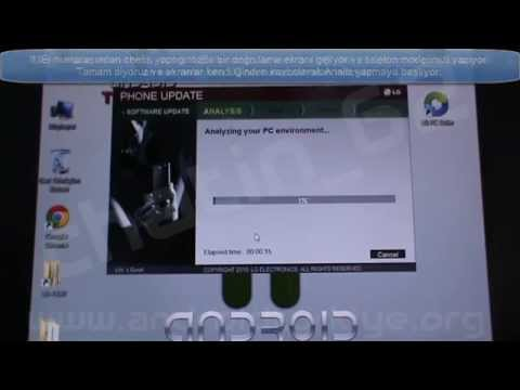 LG Optimus 4X HD (P880) LG Mobile Support Tools ile Rom Yükleme