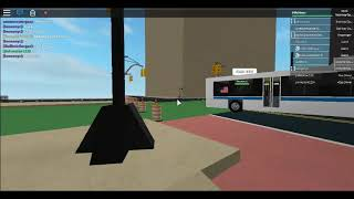 (Roblox/TBT) 2010 Novabus LFSA #1242 and 2011 New Flyer XD40 #4897 On the M34