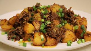 Картошка с тушёнкой Нереальная вкуснота