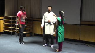 Social Mediayum Ningalum, CSI Church London, Malayalam Comedy Skit (with English subtitles)