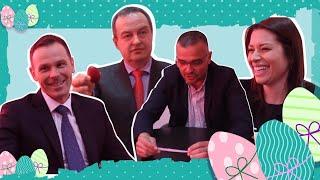 Vaksrkšnji okršaj u Srpskom telegrafu - Dačić, Mali, Vujović i Nedimović u poseti redakciji