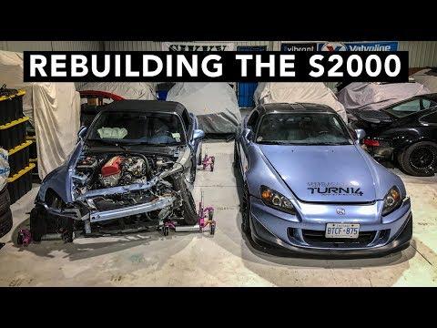 S2000 Parts Car AP2 into AP1 Swap Begins!