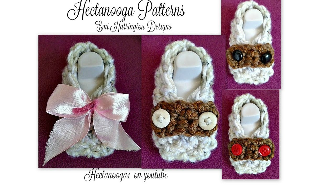 95e361a59 How to crochet baby loafer booties
