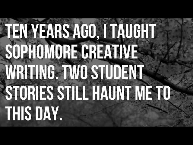 Creative writing essay topics for high school students