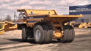 BelAZ 130-tonna crane bilan borini yuk mashinasi robotized ko'rsatdi
