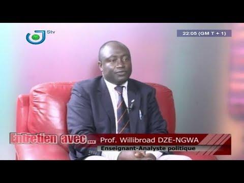 Entretien Avec ... (Prof. Willibroad DZE-NGWA) - Jeudi 01ier Février 2018 - Dipita TONGO