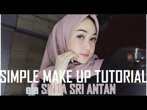 Simple Make Up Tutorial    #sinsr    #wardahbeauty