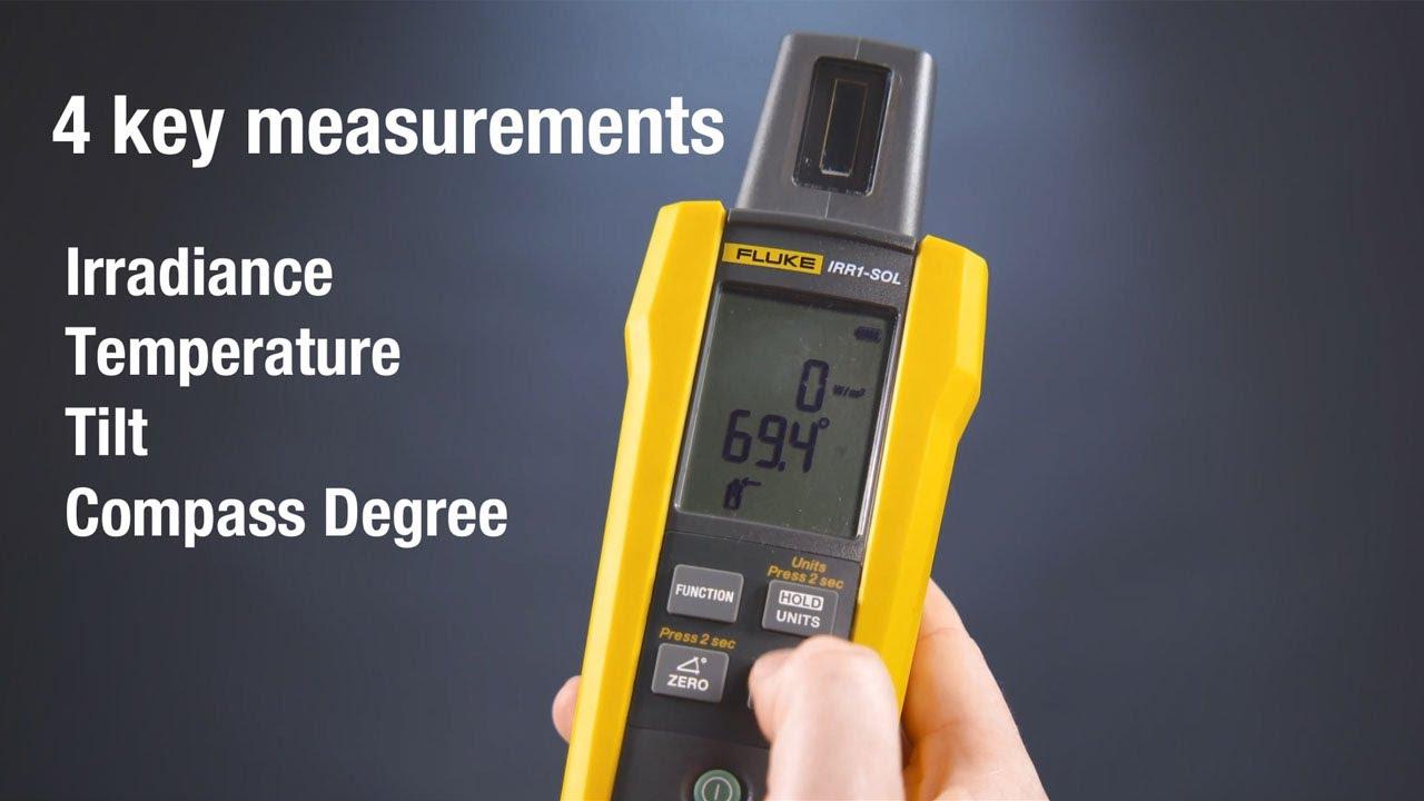 Fluke FLK-IRR1-SOL Solar Irradiance Meter | Measuretronix Ltd.