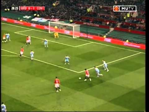 Man Utd 0 Coventry City 2 Carling Cup 2007