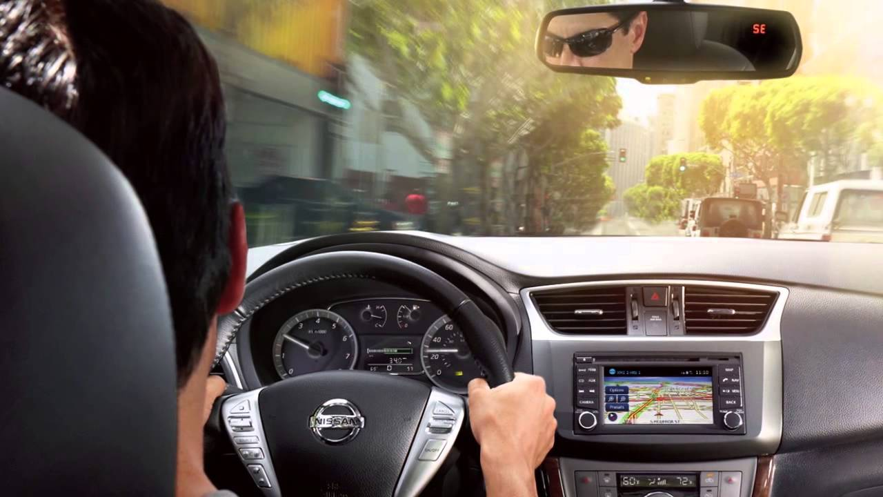 2015 NISSAN Sentra - Eco Mode - YouTube