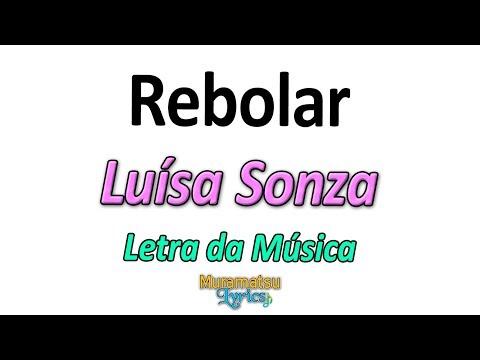 Luísa Sonza - Rebolar - Letra