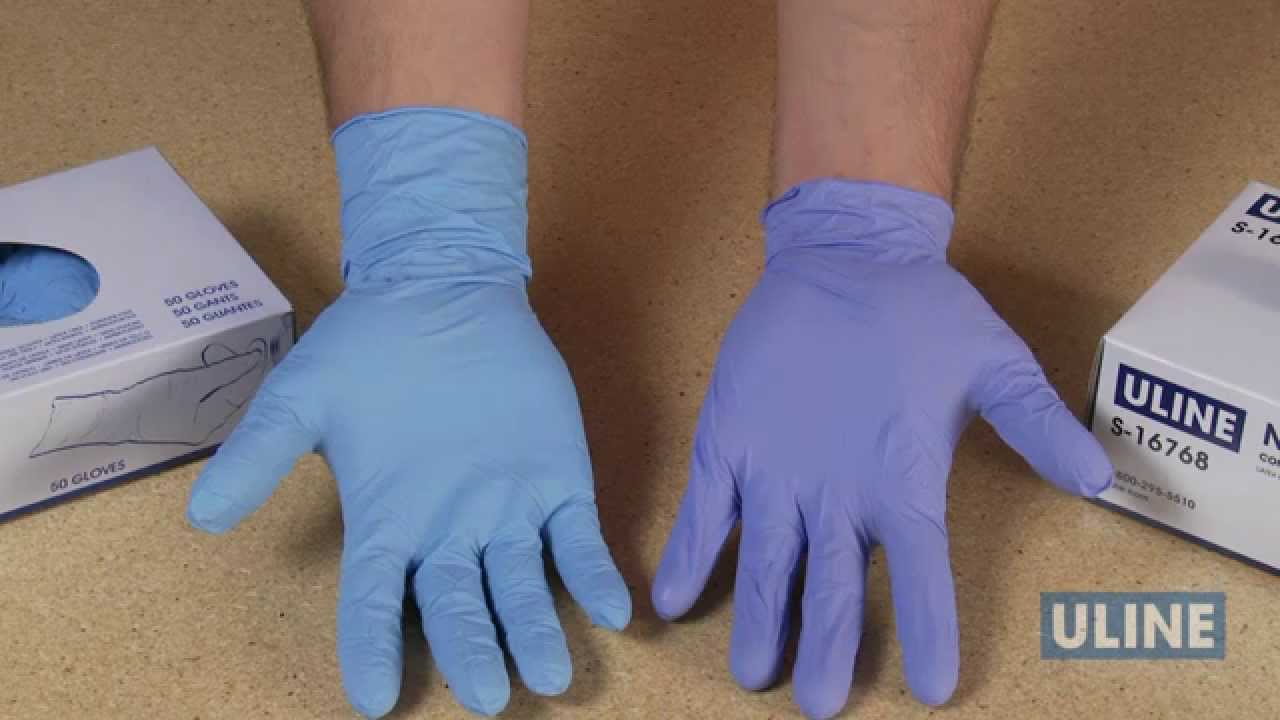 latex gloves Sterile exam