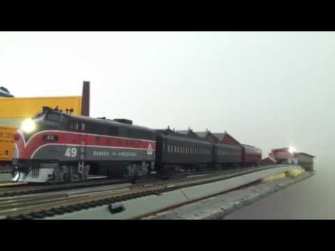 BANGOR AND AROOSTOOK GP7 #69 yard move