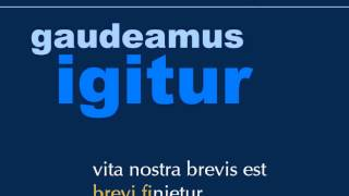 Gaudeamus Igitur Karaoke