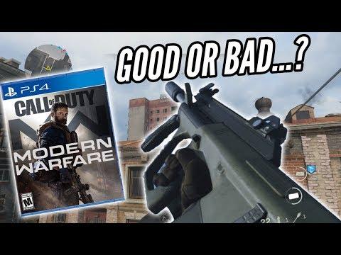 My Honest Review Of  COD Modern Warfare So Far....