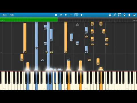 Garth Brooks The Dance Piano Tutorial Synthesia Cover Youtube