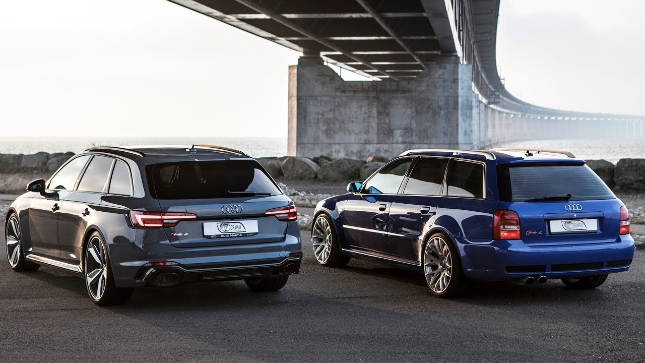 GENERATIONS CLASH: The 2018 AUDI RS4 vs it's Godfather: AUDI RS4 B5